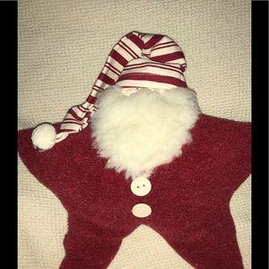 Beautiful Woof & Poof MUSICAL Star Shaped Santa